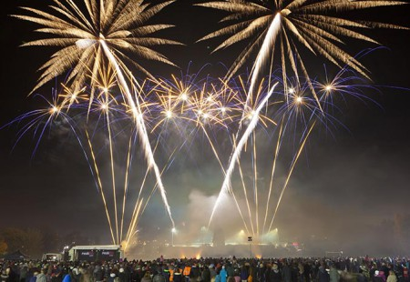 Chesterfield Events - Stand Road Firework Display