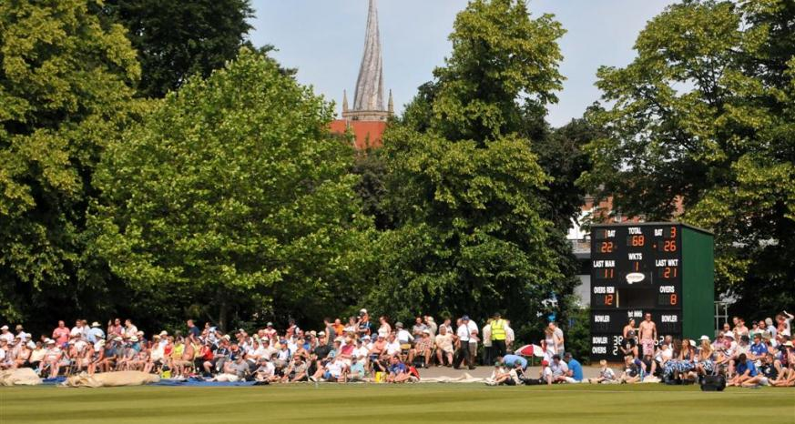 Chesterfield Festival of Cricket Image David Griffin