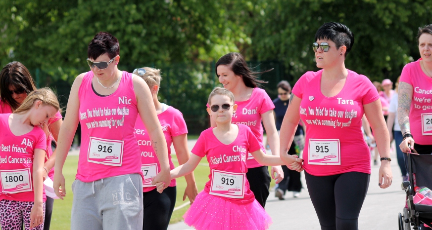 race for life chesterfield