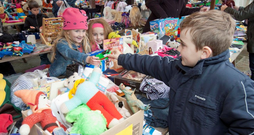 Childrens market Chesterfield