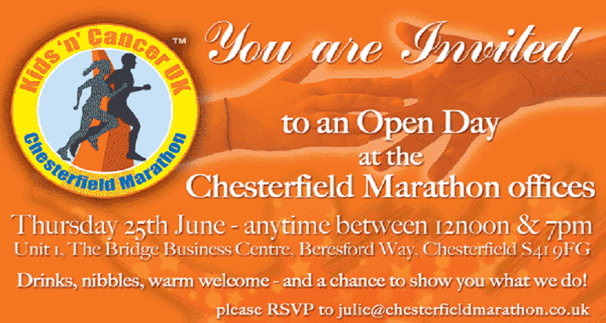 Chesterfield Marathon invite
