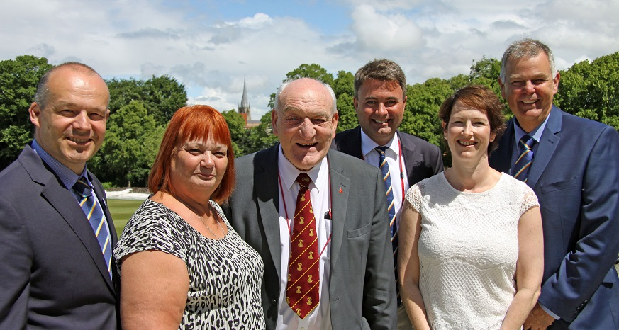 5 year deal for Chesterfield Festival of Cricket