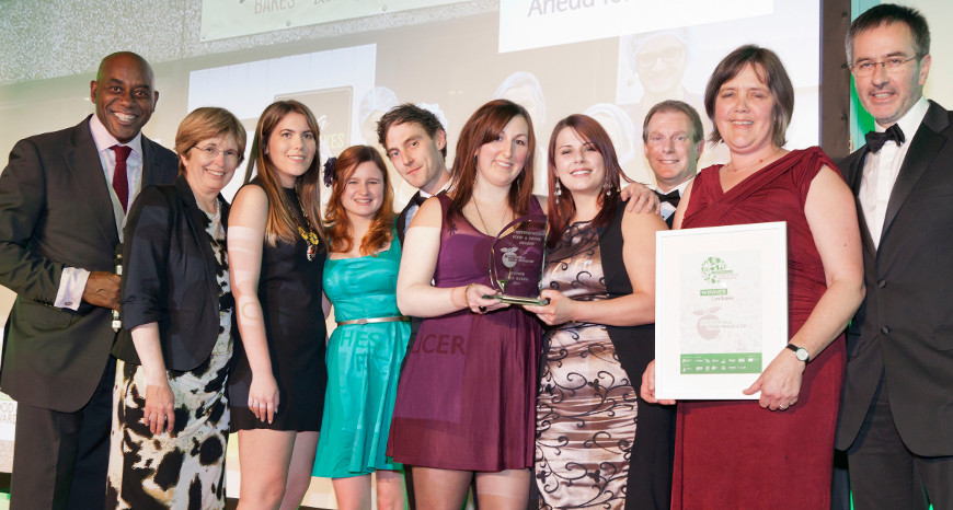 Liza Bakes Chesterfield Food Producer of the Year 2014
