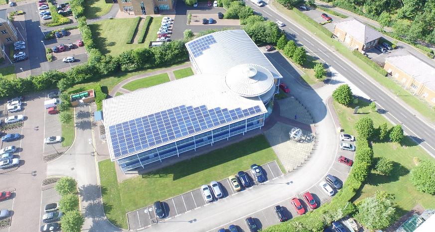 PV installation Custom Solar