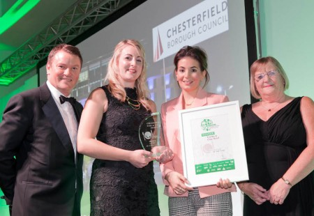 Chesterfield Food and Drink Awards 2015 with Theo Randall.