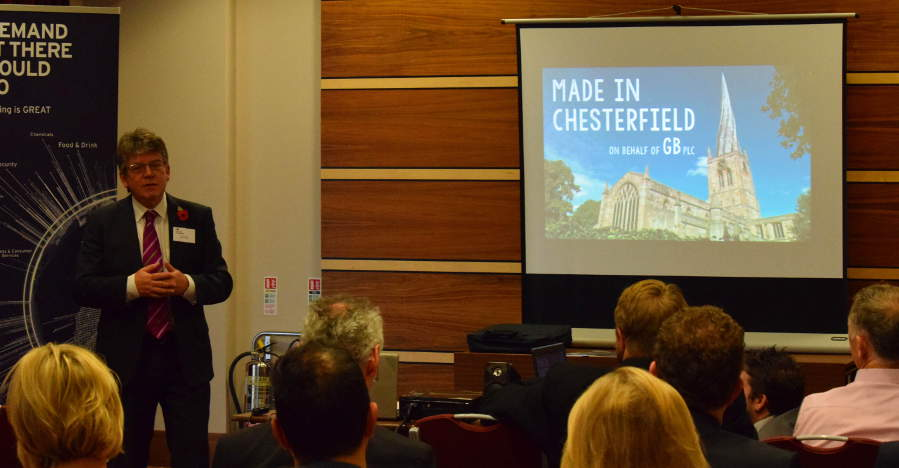 Made in Chesterfield -UKTI Export Week event