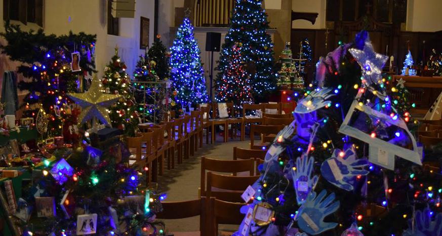 Christmas Tree Festival at St Thomas Church