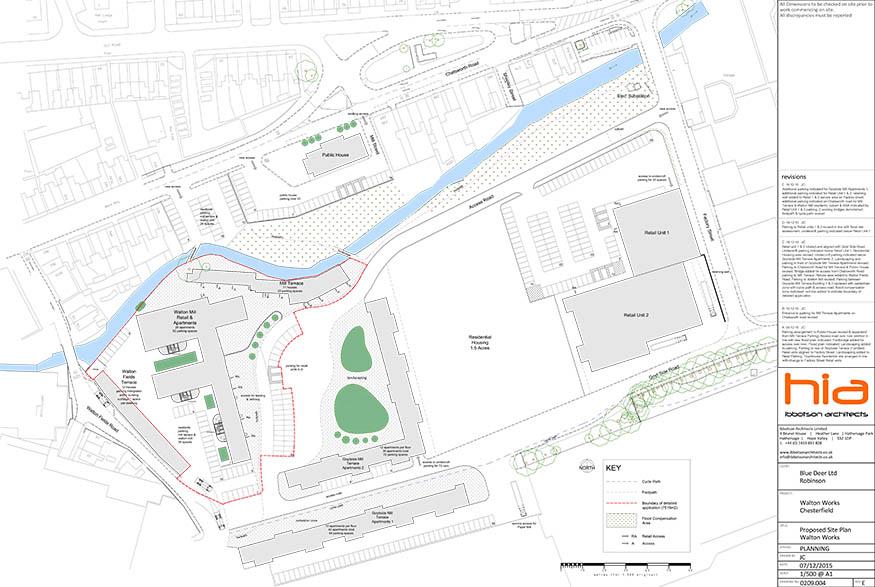 Walton Works Site Plan