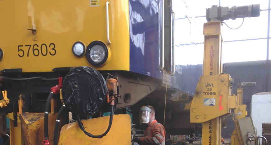 D2N2 Transport Equipment Manufacturing - Rail Sector