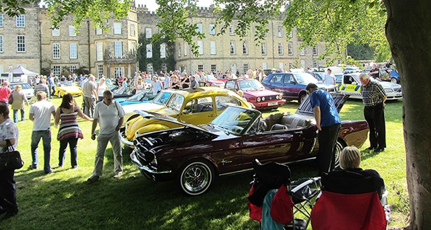 Eckington Classic Car And Bike Show Destination Chesterfield - Classic show cars