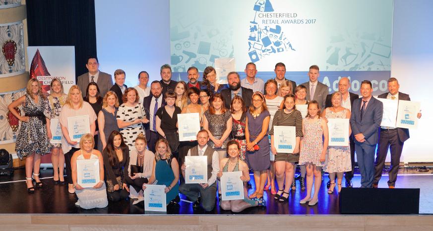Chesterfield Retail Award Winners 2017