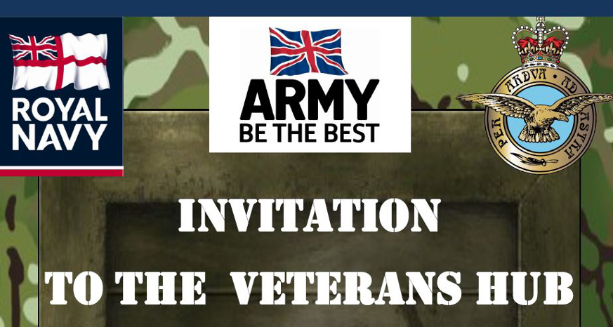 armed forces veterans hub Chesterfield