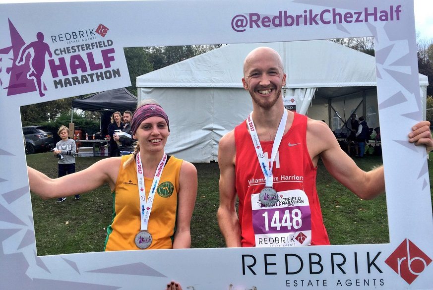 Redbrik Chesterfield Half Marathon Ladies and mens winners