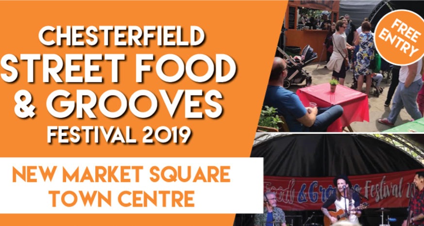 Street Food and Grooves Festival Chesterfield