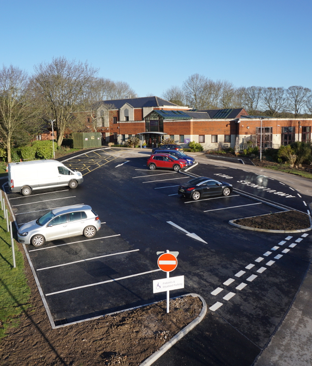 Ashgate Hospicecare new car park