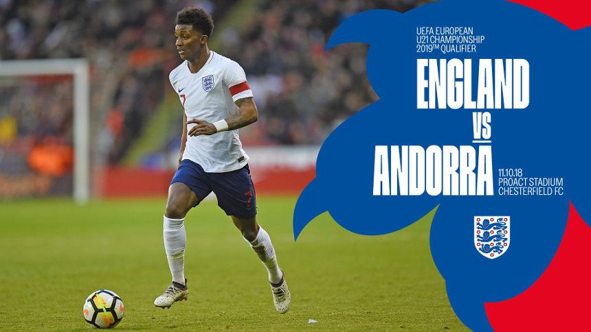 England U21 V Andorra U21