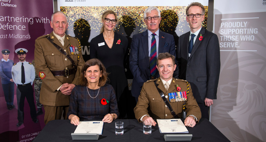 University of Derby celebrates 100 years of the RAF