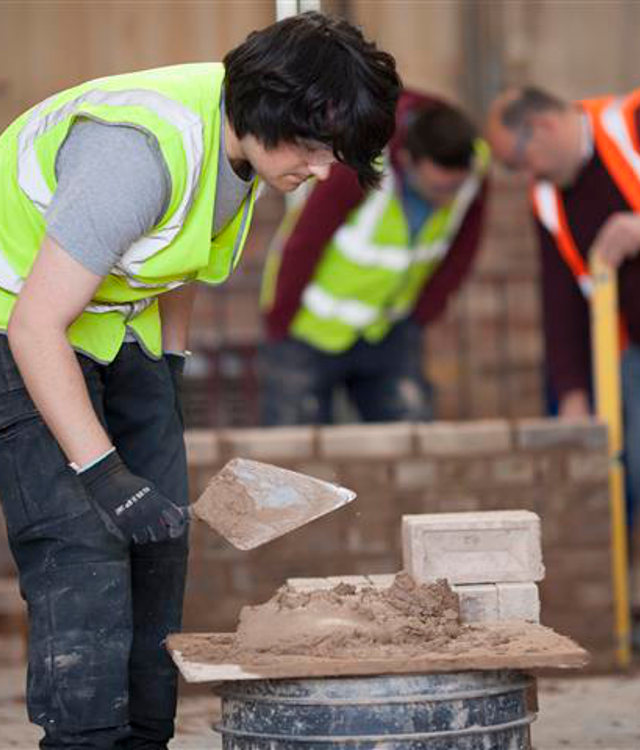 construction apprentice grant funding chesterfield