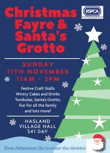 Hasland Christmas Fair Poster 2018