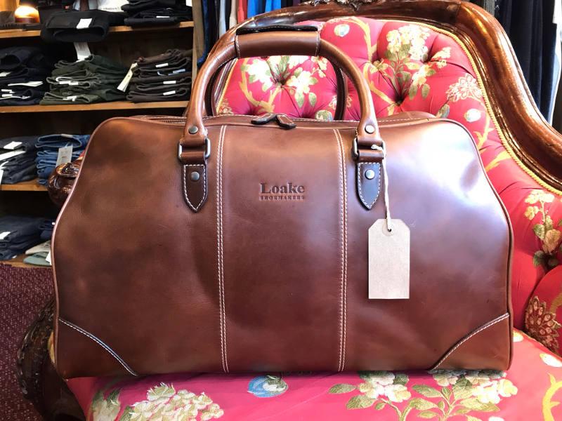 Ingmans - Loake Leather Overnight Bag