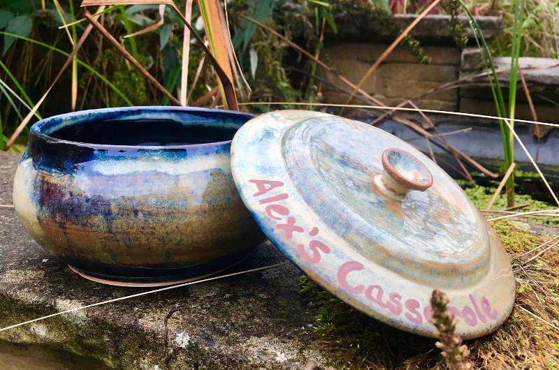 JMJ Pottery - Custom Casserole Dish