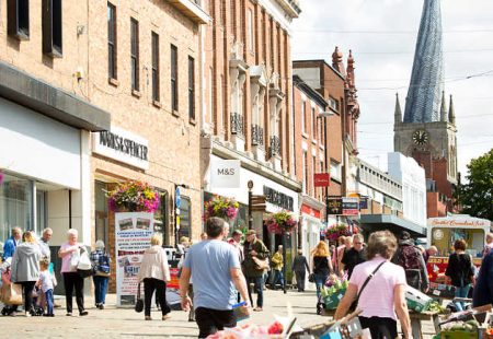 Chesterfield Town Centre