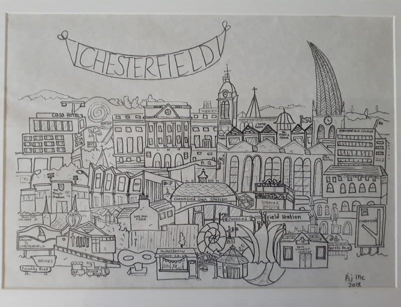 Pij Inc - Chesterfield print