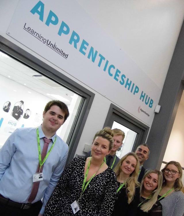 Apprenticeship Hub chesterfield College