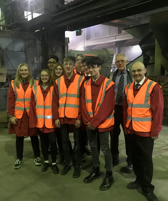 Made in Chesterfield 2019 - Brookfield visit UCB