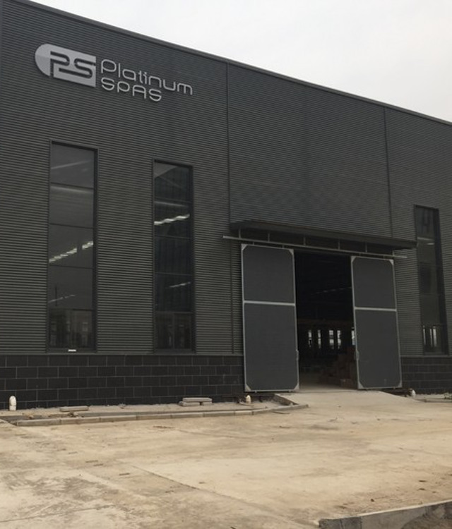 Superior Spas chesterfield new factory