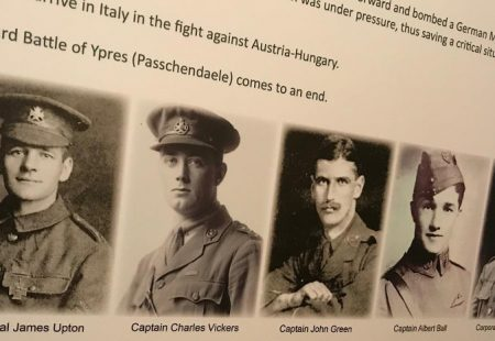 Remembering WW1 Chesterfield