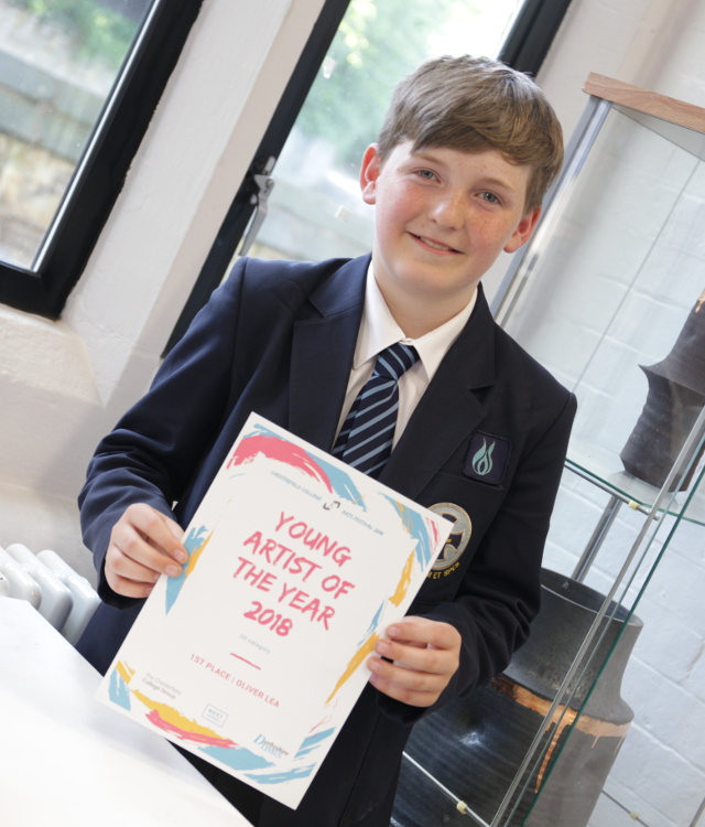Chesterfield College competition local Young Artist of the Year