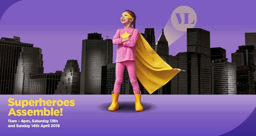 Vicar Lane superhero fun easter