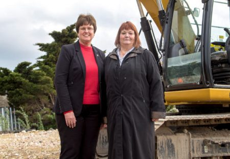 Work begins on Queen's Park artificial sports pitch