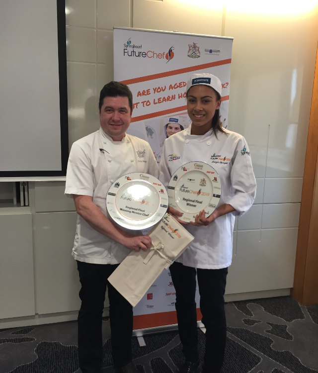 futurechef dronfield tickled trout leigh speight