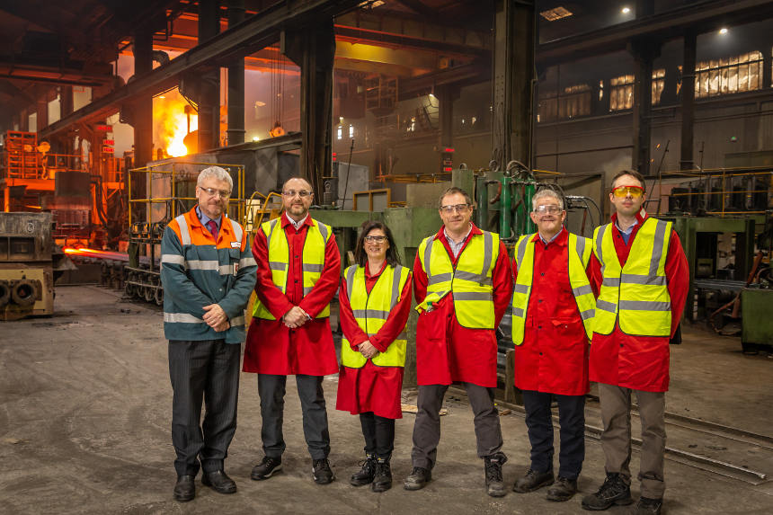 United Cast Bar Showcase Factory to the National Grid