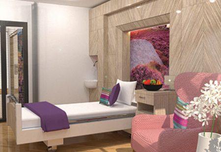 Ashgate Hospicecare Bedroom