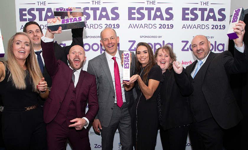 Pinewood Property Estates wins awards at The ESTAS