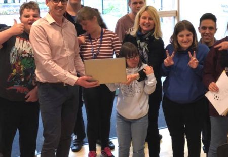 Magnifica Donates Brand New Laptop To Fairplay
