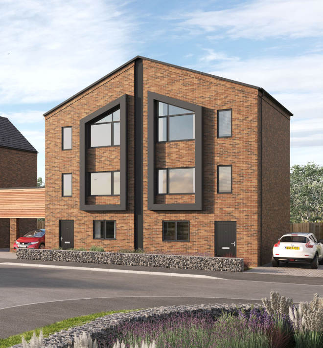Avant Homes' Waterside Quarter Chesterfield Waterside