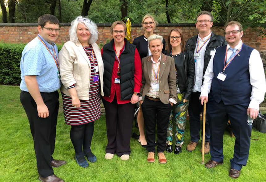 University of Derby Vice-Chancellor, Professor Kathryn Mitchell, and Sarah Barley-McMullen, the University's LGBT+ Allies Staff Network Chair, have both received a regional Stonewall Award, in acknowledgement of their commitment to role modelling inclusion and equality.