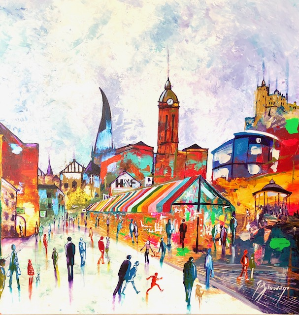Retailer Commissions Local Art Work
