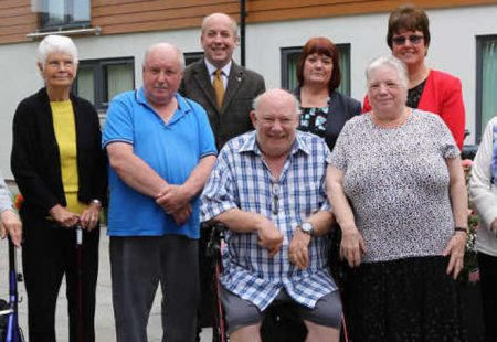 Glebe Court reopeningside
