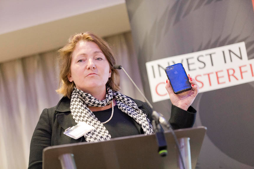 Polly Barnfield OBE - Chesterfield investment Summit