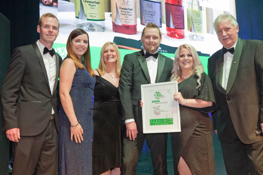 Derbyshire Distillery - Chesterfield Food and Drink Awards 2019