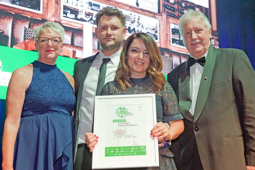 Lombardis - Chesterfield Food and Drink Awards 2019