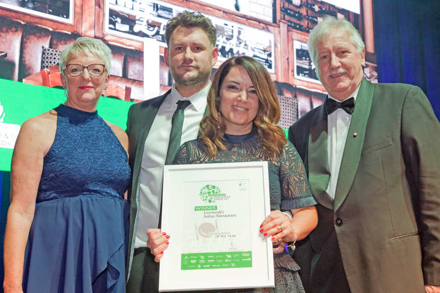 Lombardis Chesterfield Food and Drink Awards 2019