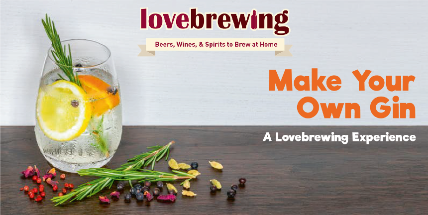 Love Brewing Gin