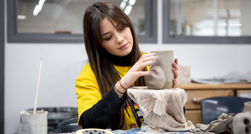 Ceramics at Chesterfield College