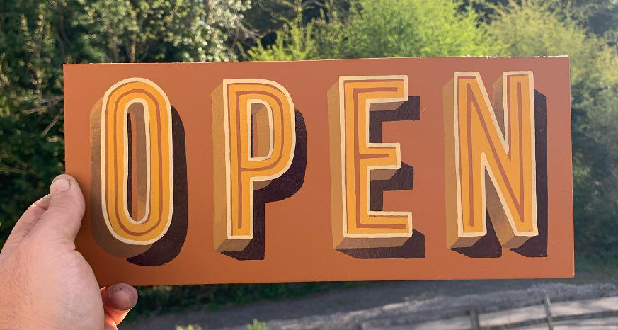 Chesterfield artist to create free open signs for local businesses